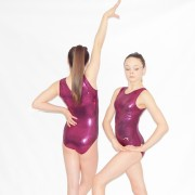 """Simply Tank"" Cherry by Flick Gymnastics"